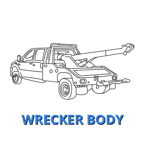 Ford Wrecker Body Commercial Truck