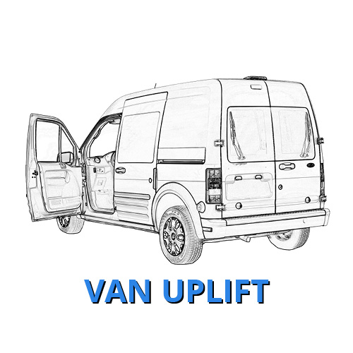 Ford Van Uplift Vehicle