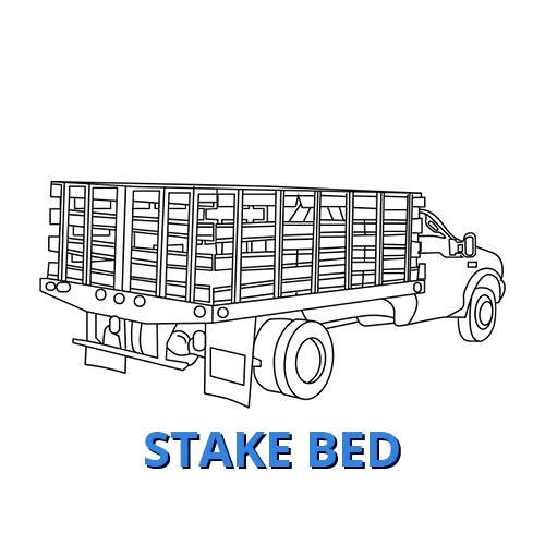 Stake Bed Commercial Vehicle