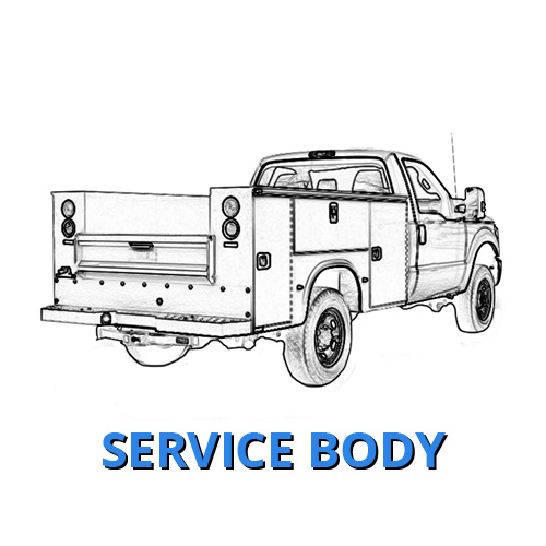 Service Body Ford Work Truck Albuquerque