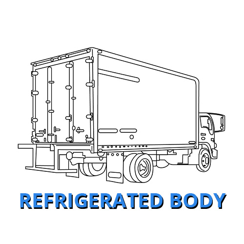Refrigerated Body Work Truck