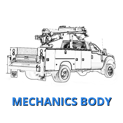 Ford Mechanics Body Truck