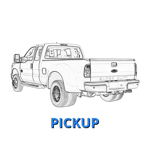 Ford Commercial Pickup Truck